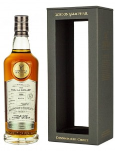 GORDON&MACPHAIL CONNOISSEURS CHOICE CAK STRENGTH   CAOL ILA    FILLED :1996 BOTTLED:2020  0,7L / 58,3%
