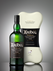 ARDBEG 10YO TOP DOG ARDBONE PACK 0,7L / 46%