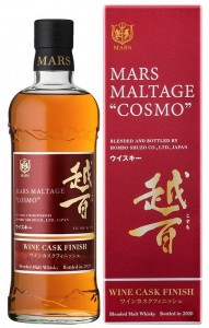 WHISKY MARS COSMO WINE CASK 0,7L / 43%