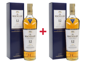 2X WHISKY THE MACALLAN 12 YO DOUBLE CASK 0,7L / 40%