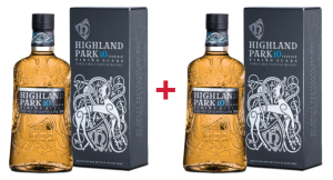2X WHISKY HIGHLAND PARK 10YO VIKING SCARS 0,7L / 40%