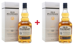 2X WHISKY OLD PULTENEY 12YO 0,7L / 40%