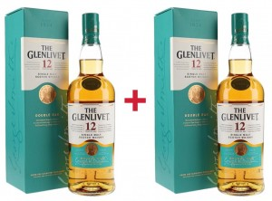 2X WHISKY THE GLENLIVET 12YO 0,7L / 40%