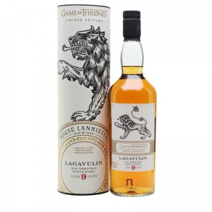 LAGAVULIN 9YO SM GAME OF THRONES HOUSE LANNISTER 0,7L / 46%