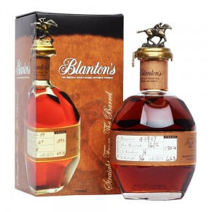 BLANTON`S STRAIGHT FROM THE BARREL 0,7L / 64,25%